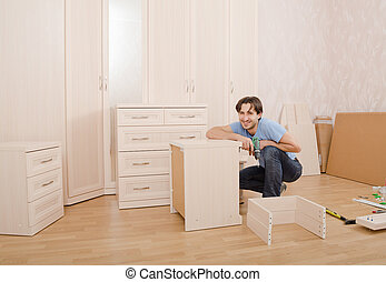 Instalación, muebles
