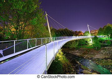 Liberty Bridge - GREENVILLE, SOUTH CAROLINA - Liberty Bridge...