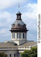 South Carolina Statehouse - Cupola on top of the South...