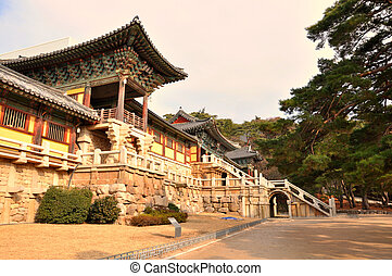 "Bulguksa temple, Gyeongju, Korea - Gyeongju city is ""museum..."