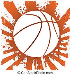 basketball - vector illustration of a basketball