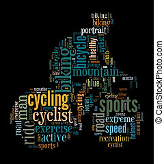 cyclist info-text graphic