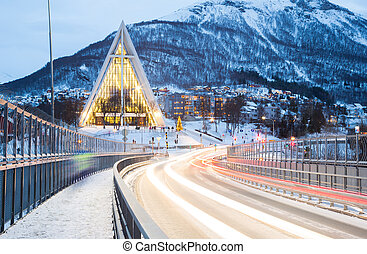 Tromso Arctic Cathedra Norway - Tromso Arctic Cathedral...
