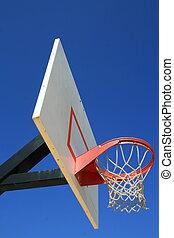 Basketball Net And Backboard