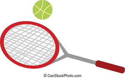 a tennis racket