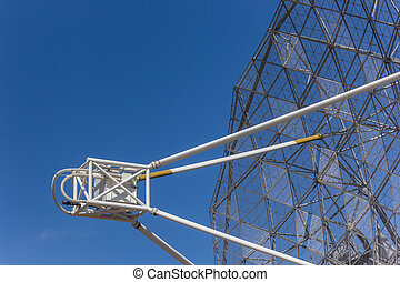Radio telescope near Dwingelo in the Netherlands