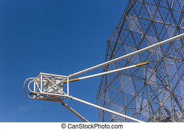 Radio telescope near Dwingelo in the Netherlands