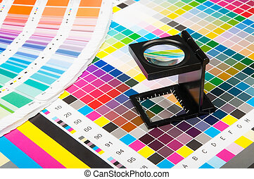 Color management in print production - The magnifying glass...