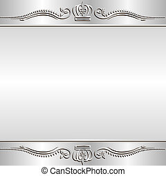 shine background with ornaments