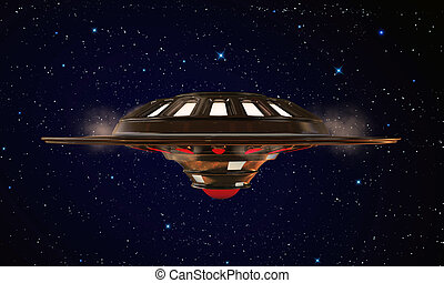 unidentified object flying in the sky