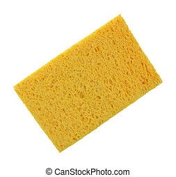 Sponge Super Absorbent Deep Yellow - A super absorbent...