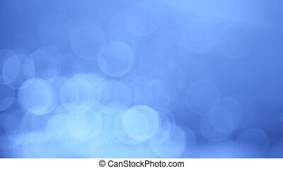 Abstract Bleu Flickers