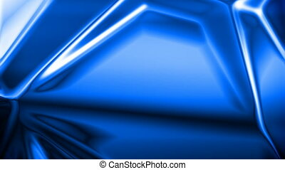 Abstract crystal - Abstract blue crystal background...