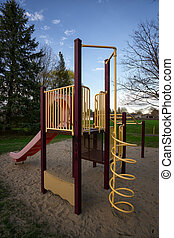 Play Structure at Public Park