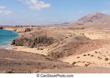 El Papagayo, Lanzarote, Spanien, Spain - El Papagayo,...