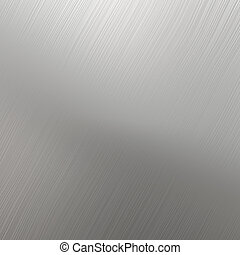Silver Stainless Steel Textured