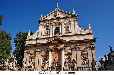 Cracow - Church of SS Peter and Paul Krakow Poland