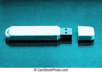 White thumb drive pen drive flash - White thumb drive pen...
