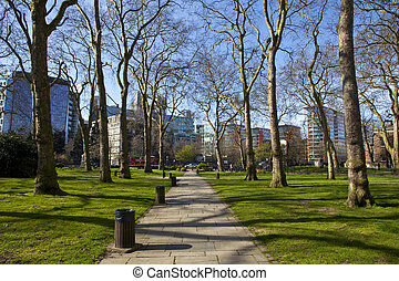 Paddington Green in London - View of Paddington Green in...