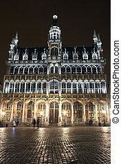 Maison du Roi Kings House in Grand Place, Brussels - The...