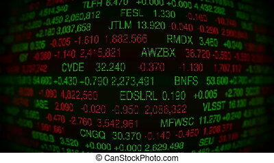 Stock Market Board (Loopable)