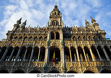 Maison du Roi Kings House in Grand Place, Brussels - Maison...