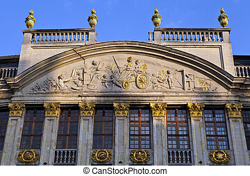 Grand Place Detail, Brussels