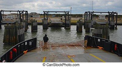 Ferry Boat at Marina