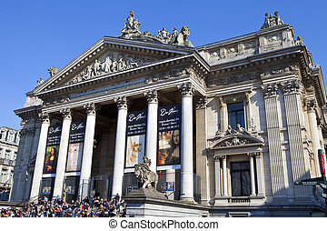 Bourse in Brussels - The Bourse in Brussels The home of the...