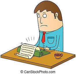 manual typing