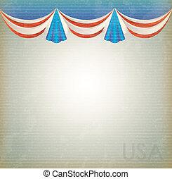 United States - United states celebration background over...