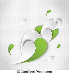 Abstract background - Colorful graphic illustration