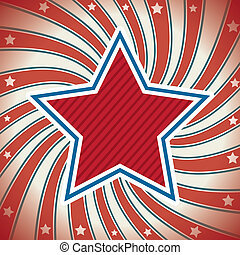 flag day background, united states vector illustration