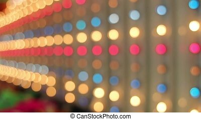 Fast Blinking Moving Lights 1080p - Fast Blinking Moving Red...