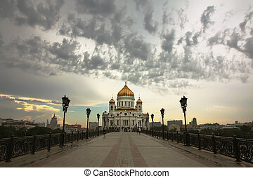 Cathedral of Christ the Saviour in the Evening Light