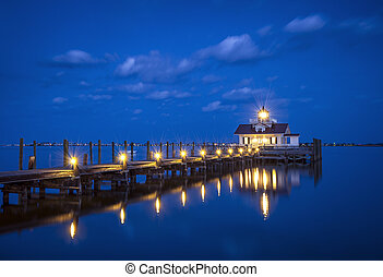 Roanoke Marshes Lighthouse Manteo NC Outer Banks North...