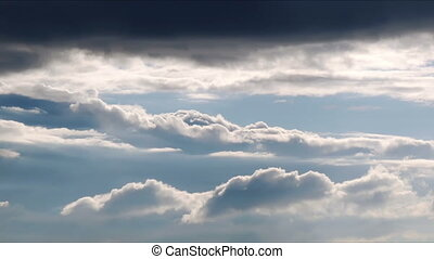 Cloudscape timelaplse