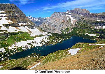 Hidden Lake Glacier National Park - Hidden Lake is located...