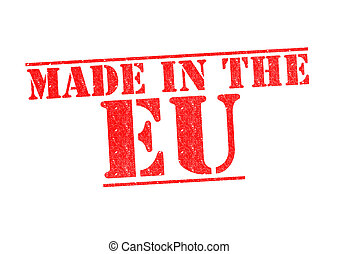 MADE IN THE EU Rubber Stamp
