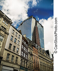 London city development - new and old architecture of London...