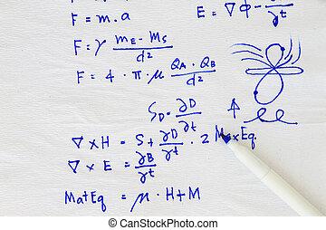 ecuación, fórmula