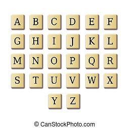 crossword design alphabet - Crossword like alphabet...