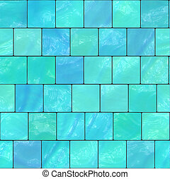 glazed tile - illustration of the glazed tile seamless...