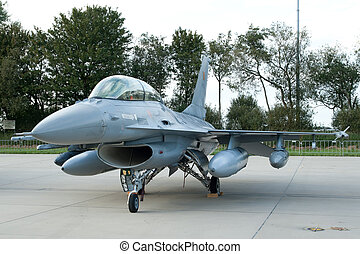 Parked F16