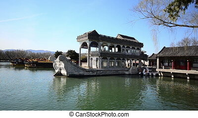 stone boat - the stone boat of summer palace