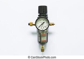 Air pressure gauge   - Air pressure gauge