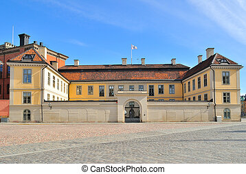 Stockholm, Riddarholmen - Stockholm. The architecture of the...