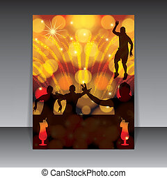 Party design template