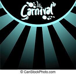 Elegant Carnival background