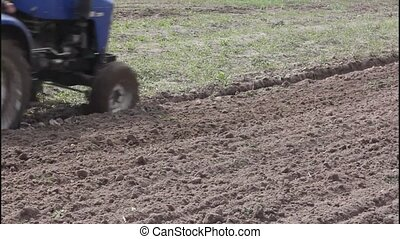 Plowing the soil - Most agricultural operations start with...
